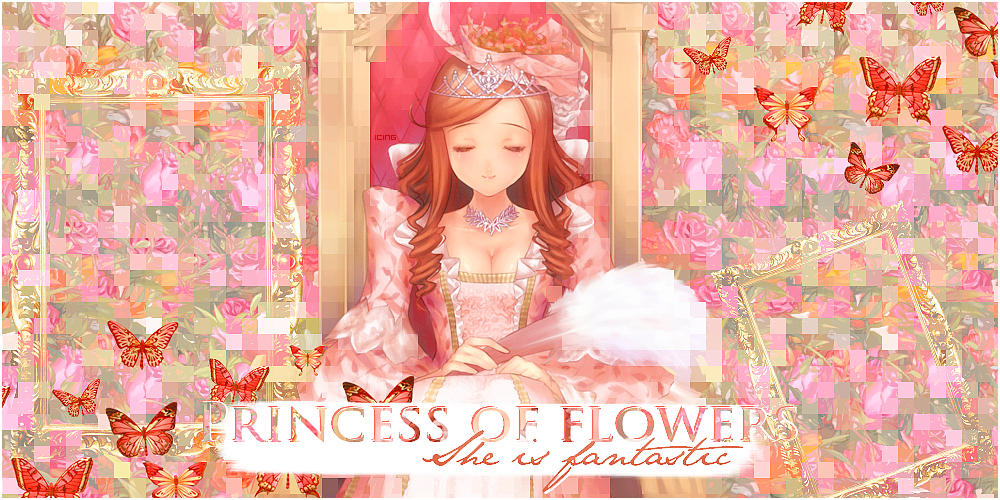 Princess of flowers [67#]