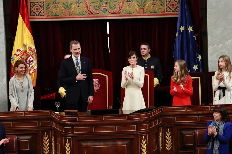 Solemne Ceremonia de Apertura de la XIV Legislatura.