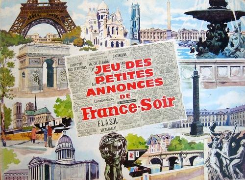 Le jeu des petites annonces de France soir