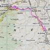 Itinéraire Murlong carte sitna.navarra.es