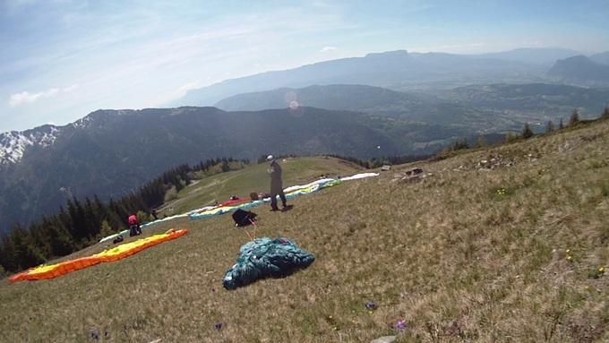 Sortie dans les Alpes du Nord 1er jour