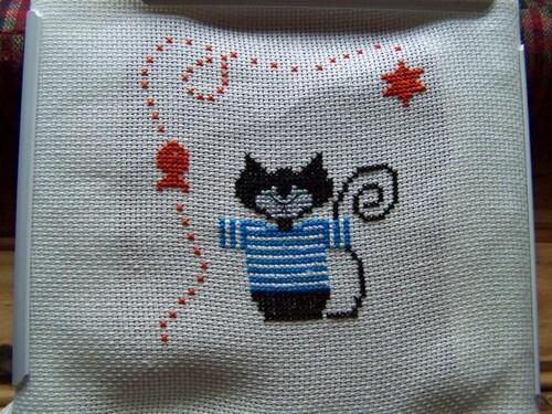 Un chat en marinière