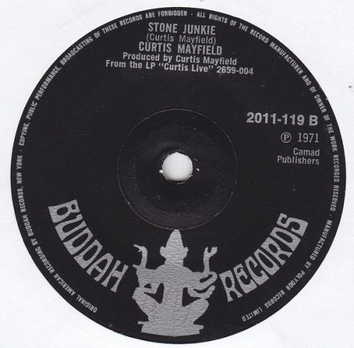 1971 : Single SP Buddah Records 2011-119 [ UK ]