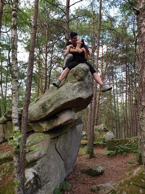 un peu de fraicheur .... forêt de Fontainebleau