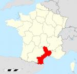 La région Languedoc-Roussilon