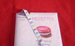 Cahier de recettes Macarons