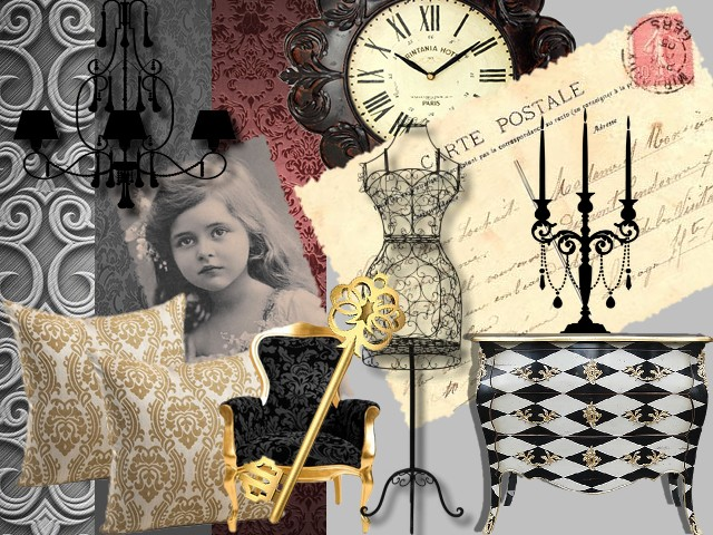 "Kit Digiscrap ""Baroque"""