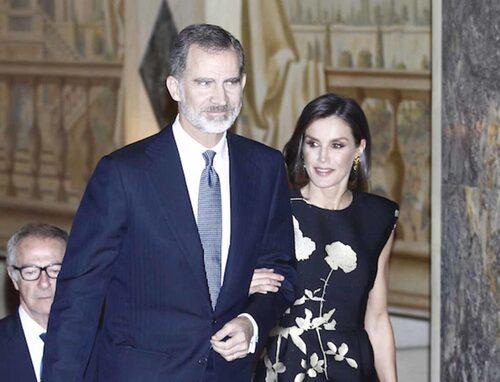 Prix du journalisme à Madrid avec Felipe et Letizia