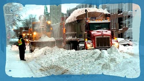 Canada:Montréal le contraste des saisons