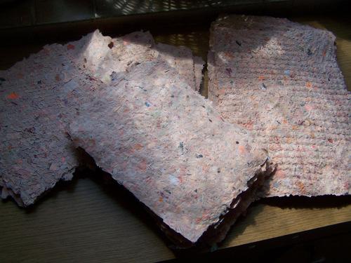 Le papier recyclé, cuvée 2010 (2)