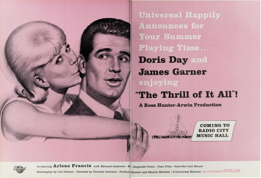 THE THRILL OF IT ALL BOX OFFICE USA 1963
