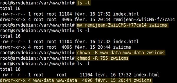 Installer ZwiiCMS sur Debian Jessie