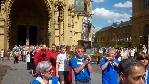 Fête de l'Assomption à Metz
