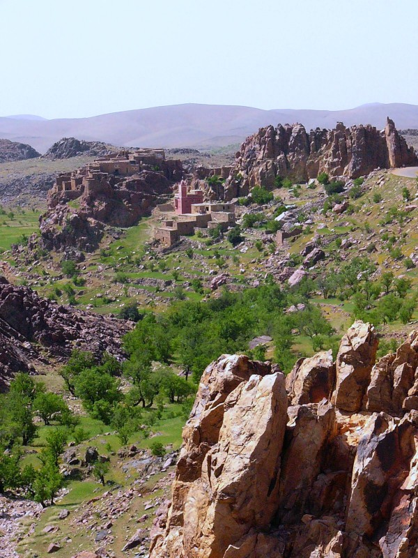 Route de Taliouine-Igherm-Tafraout (2)