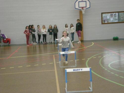 Initiation à l'athlétisme
