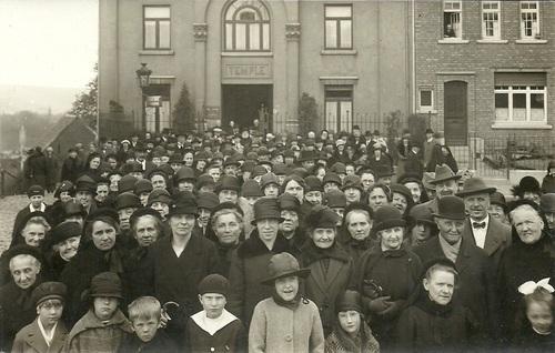 Verviers Temple antoiniste juillet 1914 (paysage)