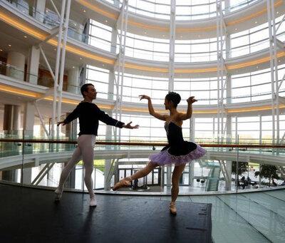dance ballet inside opera ballet