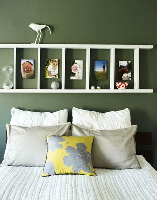 Ladder shelf--Heather Chontos: