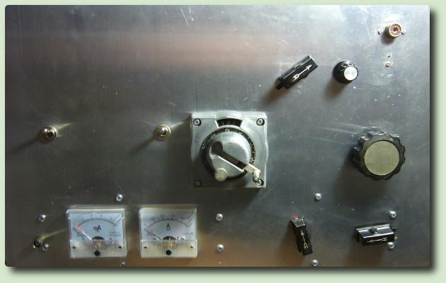 Construction d'un amplificateur avec deux P600 par F2XI