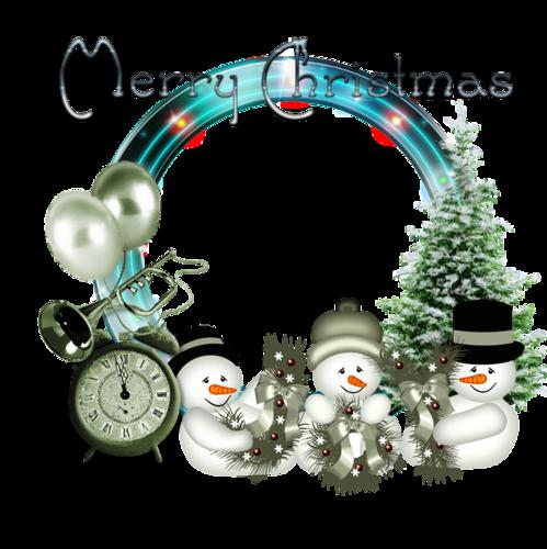 Cadres et Clusters de Noël Série 17