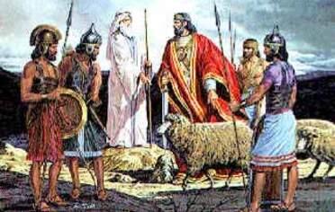 La victoire de Saül. David est sacré roi