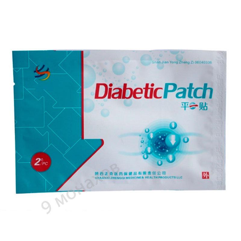 Пластырь китайский от диабета сахарного диабета у