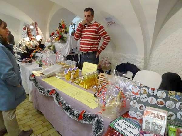 Le marché de Noël 2016 du Zonta-Club Châtillonnais a connu un beau succès...
