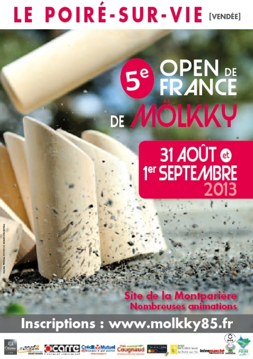 Le Mölkky club Provence à l'Open de France