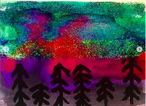 Arts visuels : les aurores boréales