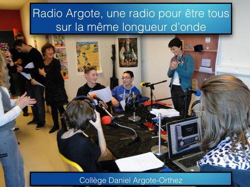 Une radio au collège pour être sur la même longueur d'onde