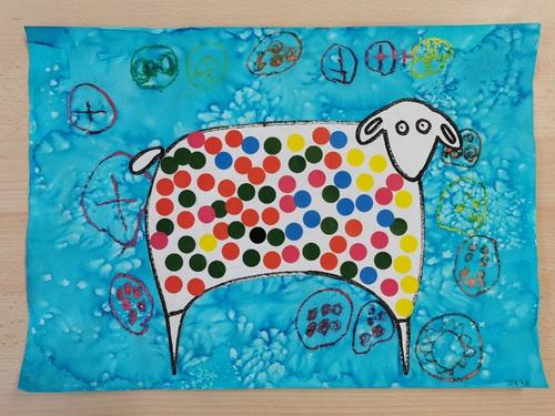 Le mouton à la manière de Karla Gerard