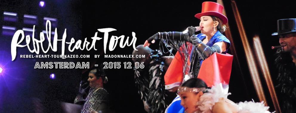 Madonna Rebel Heart Tour Amsterdam 2
