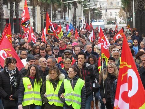 Manifestation du 14.12.2018 à Toulon