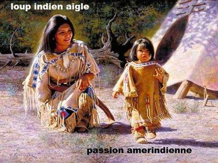 LA PLACE DES FEMMES DANS LES TRIBUS AMÉRINDIENNES