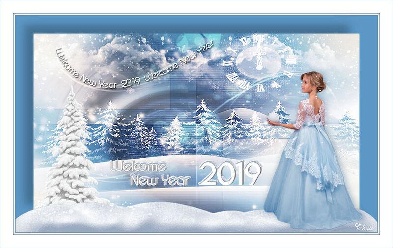 Wecome 2019 by Huyunlu Jillar