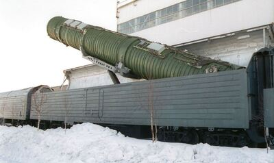 Russia Tests Train-Based Nuclear System: President Trump Can Prevent Arms Race