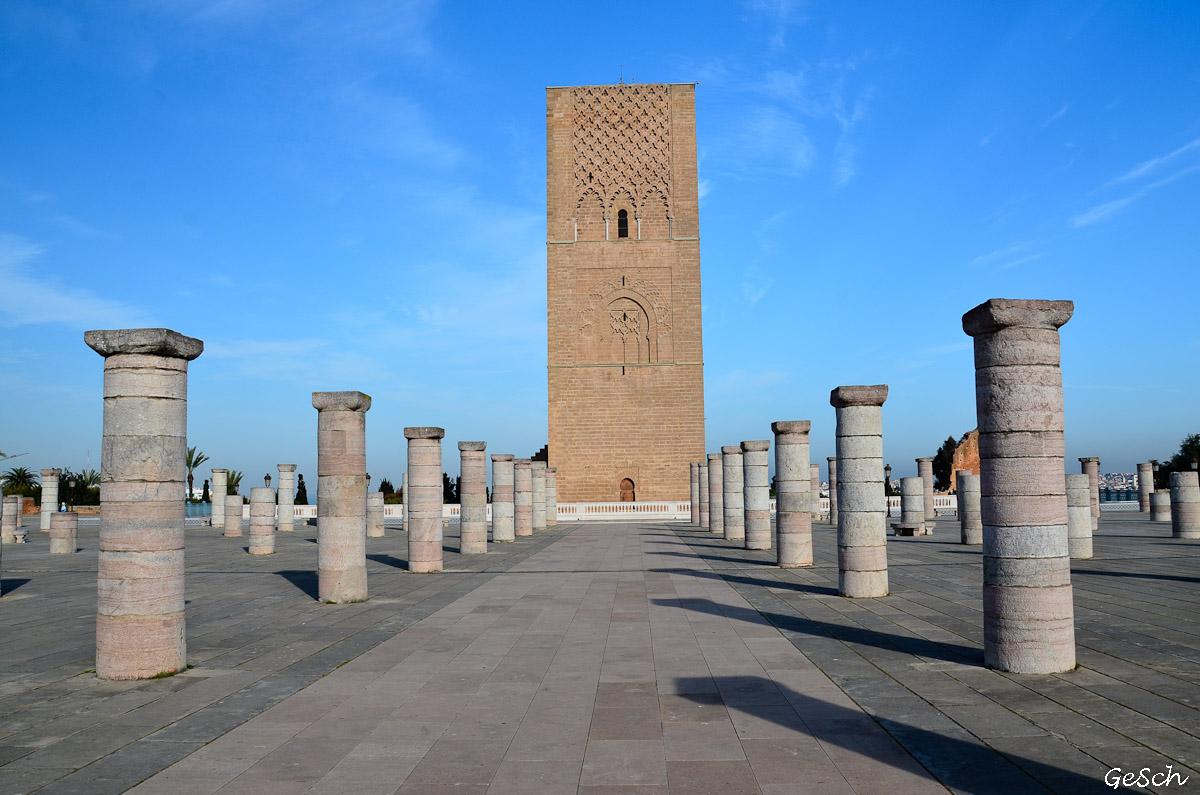 tour hassan rabat maroc schnoebelen