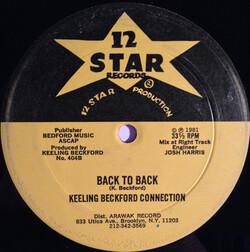 Keeling Beckford Connection - Back To Back