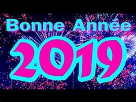 Résultat d'images pour gif animé bonne année 2019