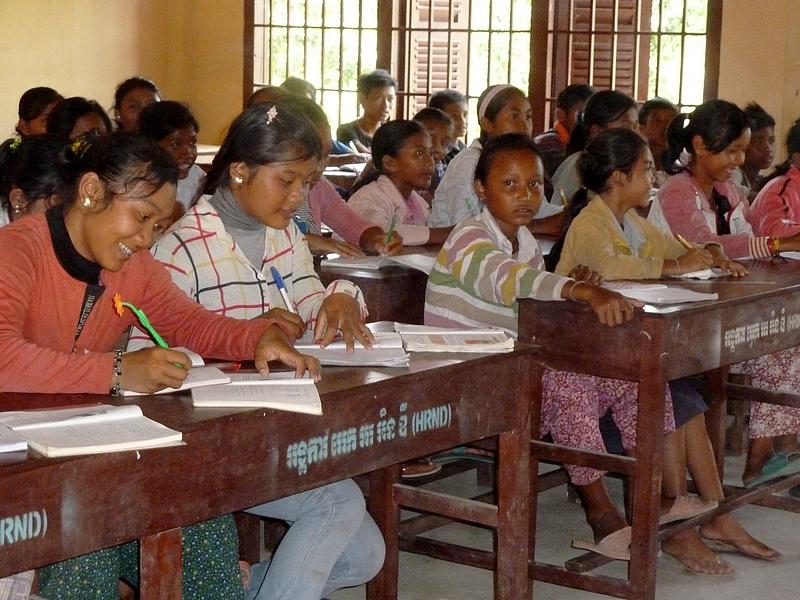 Cambodge : quand l'école est une chance !