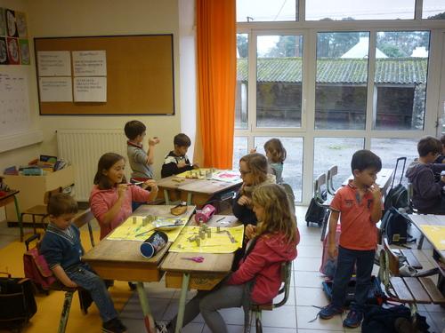 ateliers interclasse lors de la journée des communautés éducatives