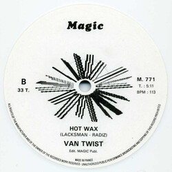 Van Twist - Hot Wax
