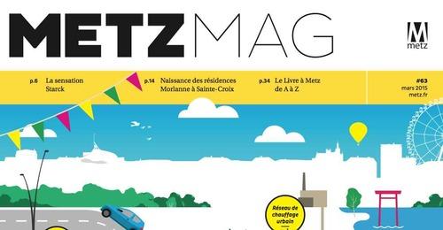 Metz Mag de mars 2015