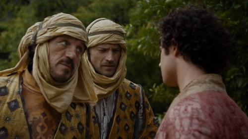 Jaime Lannister, le nouveau comique de la série