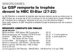2008-2009 Féminines Finale GSP (ex MCA)-HBC El Biar 27-22