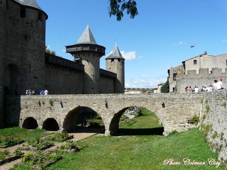 Carcassonne : Les lices