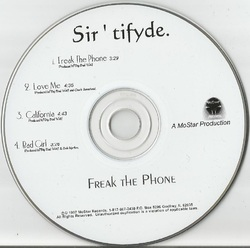 SIR'TIFYDE - FREAK THE PRONE (EP 1997)