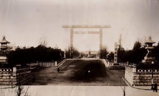 photographies du grand japon impériale au sanctuaire yasukuni date : 1937 a 1943