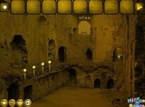 Jouer à Abandoned medieval castle escape