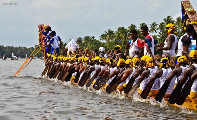 kerala boat race onam